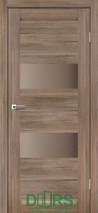 CANNELI GREY WOOD BRONZE SATIN